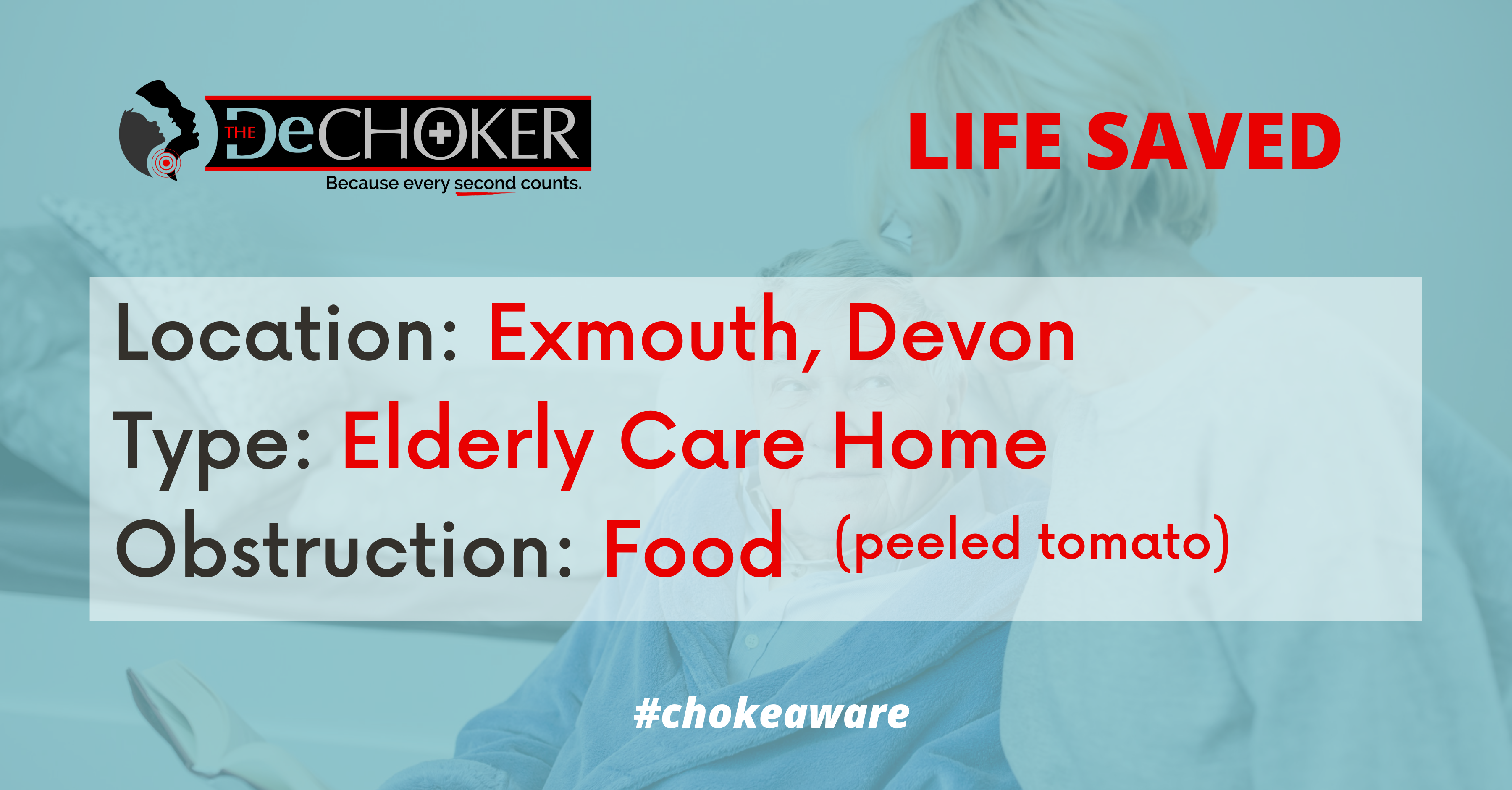 Dechoker Life Saved in Exmouth